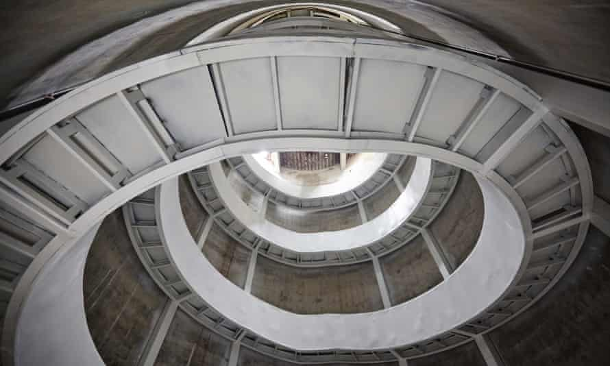 Staircase to heaven … the Shenzhen Biennale breathes new life into the old industrial buildings in the city's port.