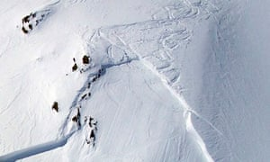 Austrian rescue workers avalanche