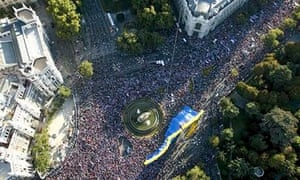 Thousands of Spaniards march in anti-abortion demonstration in Madrid in 2009
