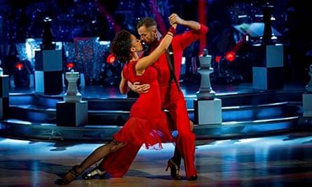 Strictly's Natalie Gumede and Artem Chigvintsev