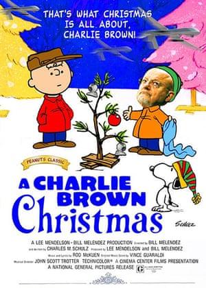 darth christmas: charlie brown