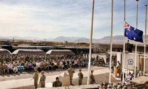 Australian soldiers Afghanistan