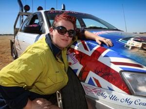 Chloe Fennel, Holden, fuel pump technician