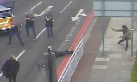 Police confront Adebowale and Adebolajo at Woolwich