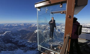 To the south of the installation visitors should be able to view Mont Blanc, Europe's highest mountain.