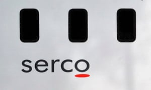 A prison van for private firm Serco, which was overcharging on criminal tagging contracts
