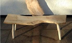 LandWorks wooden bench
