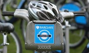Boris Johnson Barclays Cycle Hire