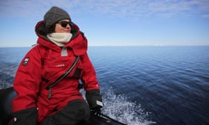 Ecologist Tracey Rogers in Antarctica