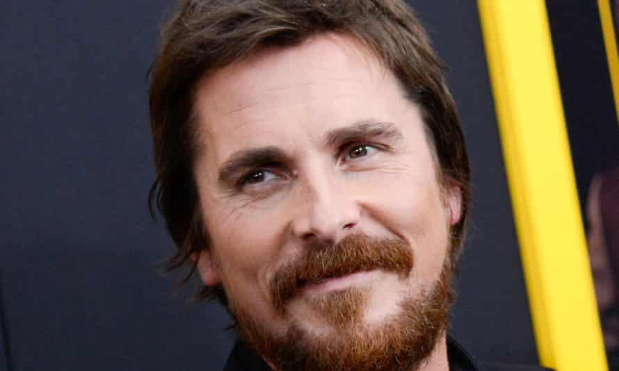 Christian Bale at the premiere of American Hustle in New York.