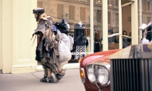 Homeless Man and Rolls-Royce