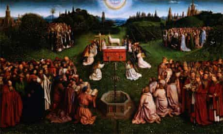 The Adoration of the Lamb: Ghent Altarpiece