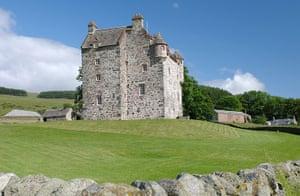Cool Castles: Forter Castle, Perthshire
