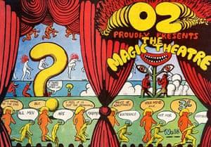 Martin Sharp: Oz magazine 16 (1968)