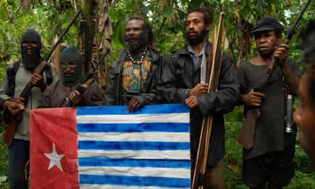 Morning star flag West Papua OPM