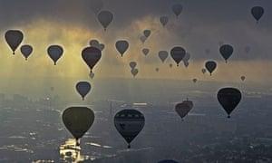 Balloons over Bristol, UK