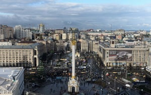 Ukraine update: Protesters gather at Independence Square on Monday morning