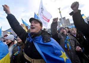 Ukraine update: Protest continues on Monday at Independence Square