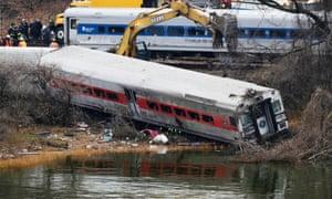 New York train crash.