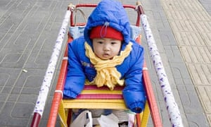 A Chinese child in Beijing