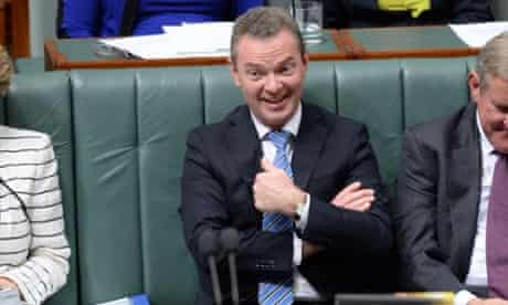 Education minister Christopher Pyne finds himself at the centre of a storm over his Gonski backflip.