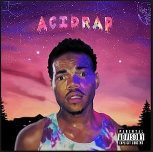 Hidden Gems: Chance the Rapper CD cover