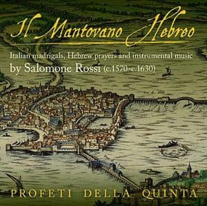 Hidden Gems: Salomone Rossi  Il Mantovano Hebreo cd cover