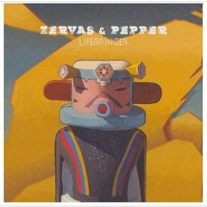 Hidden Gems: ZERVAS & PEPPER  Lifebringer cd cover
