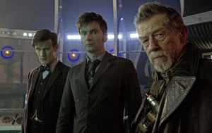 Media 2013: BBC1 airs the Doctor Who 50th anniversary episode, Day of the Doctor