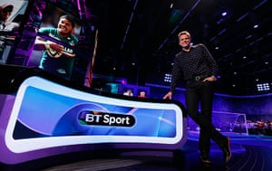 Media 2013: BT Sport launches, featuring presenters including Jake Humphrey