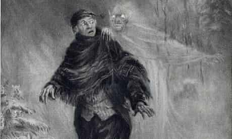 A ghostly 19th-century illustration