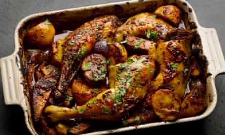 Yotam Ottolenghi's sweet and smoky Mexican chicken
