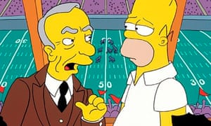 """Rupert Murdoch the """"billionaire tyrant"""" and Homer in The Simpsons"""