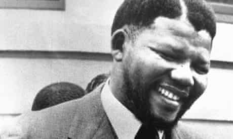 Nelson Mandela, photographed in the early 1960s