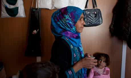 Um Fouad at the Zaatari camp