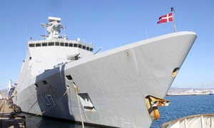 Danish frigate involved in Danish-Norwegian plan to oversee shipping of chemical agents from Syria