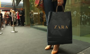 Zara opens the doors to its Westfield Pitt Street Mall store in Sydney, the first branch in Australia.