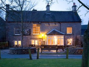 Pubs: The George,  Alstonefield, Derbyshire