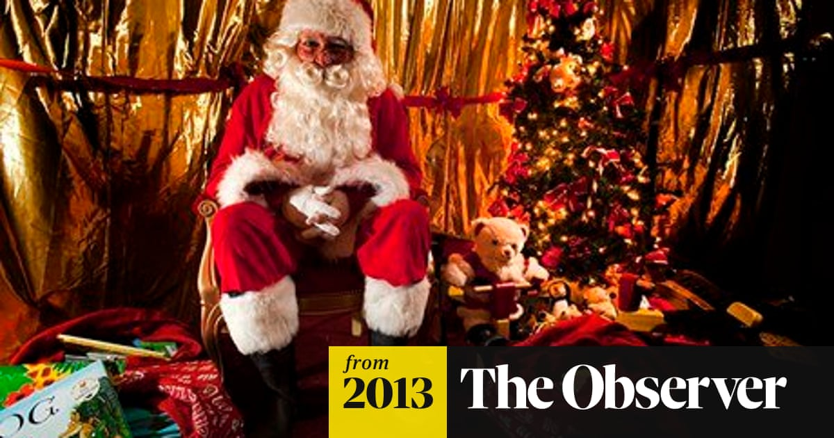 secrets of the grotto revealed as study uncovers art of being a successful santa christmas the guardian secrets of the grotto revealed as study