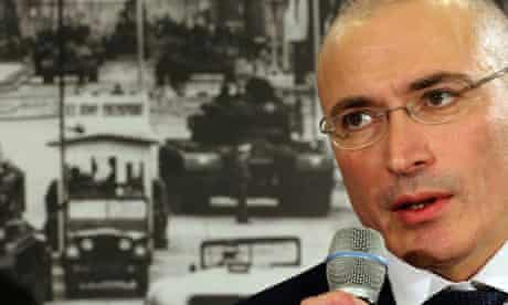 Mikhail Khodorkovsky in Berlin