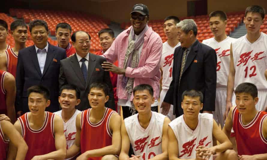 Dennis Rodman in North Korea