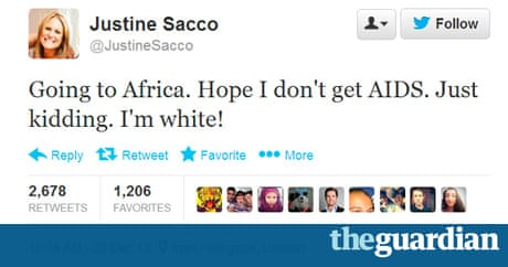 Justine Sacco PR Executive Fired Over Racist Tweet Ashamed - 18 roses are red tweets that are unbelievably funny