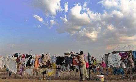 South Sudan refugee camp