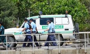 Christmas Island asylum seekers