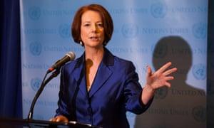 Julia Gillard UN