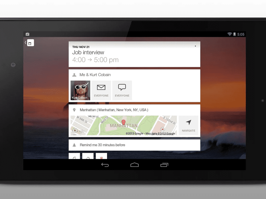 Cal for Android.