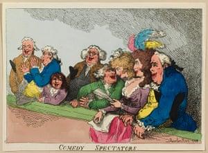 Rowlandson: Comedy Spectators