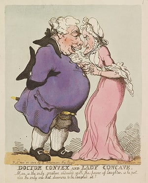 Rowlandson: Doctor Convex and Lady Concave