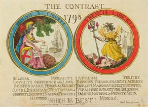 Rowlandson: The Contrast,