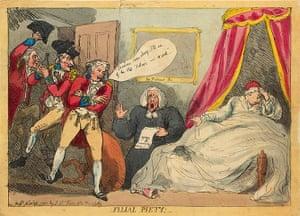 Rowlandson: Filial Piety!
